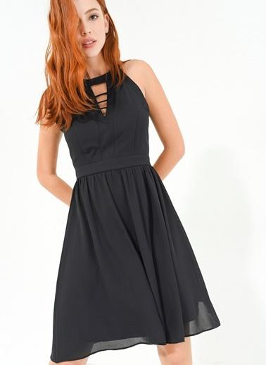 Göğsü Bantı Elbise People By Fabrika
